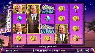 PAWN STARS Video Slot Casino Game with a COOL CASH FREE SPIN BONUS