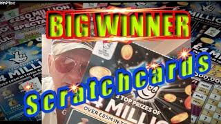 •Wow!..scratchcard•..•WHAT A WINNER•..Includes •BIG DADDY•LUCKY LINES•5x CASH•Bingo•classic
