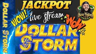 LIvE! JACKPoT! Dollar $ Storm Hold and Spin 25c DeNoM ChangeItUp Session