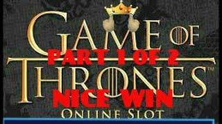 GAME OF THRONES (MICROGAMING) BIG WIN
