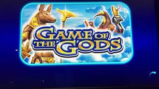 Game of the gods bonus with both locking wilds in place, big win or big fail?