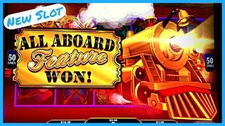 NEW SLOT   ALL ABOARD Dynamite Dash! Free Games & All Aboard Feature