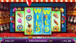 CARNY CASH Video Slot Casino Game with a PRIZE GAME FREE SPIN BONUS