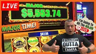 LIVE! Slot Play Hardrock Tampa High Limit Room