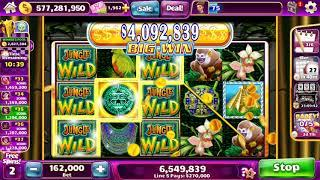 JUNGLE WILD Video Slot Casino Game with a BIG WIN FREE SPIN BONUS