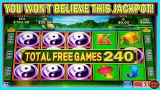 YOU WON'T BELIEVE THIS JACKPOT! I AM STILL IN SHOCK 240 FREE SPINS ON HIGH LIMIT CHINA SHORES
