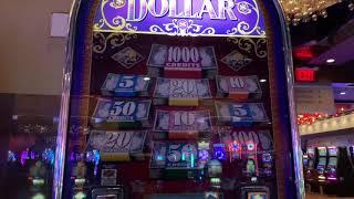 5 Times Pay - Double Top Dollar - High Limit Slot Play