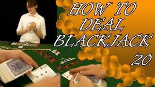 How to Tuck the Hole Card when Dealing on a Handheld Game