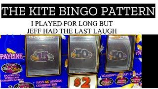 ** CHOCTAW DURANT ** KITE BINDO PATTERN AT THE END $6 MAX BET RAINING' SILVER & GOLD VGT SLOT
