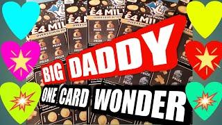 BIG DADDY £4.Million Scratchcard..One Card Wonder...LIKES needed if you would like more BIG DADDY'S