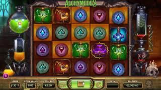 Alchymedes slot from Yggdrasil Gaming - Gameplay