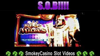 KING MIDAS Slot Machine Oh Yea! - Oh No! - WMS