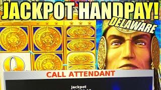 ANOTHER JACKPOT HANDPAY!?  MAYAN CHIEF MULTIPLIES! Slot Machine (KONAMI)