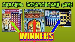MONEY KINGDOM..JEWELS SMASH. CASHWORD..LION DOUBLER..SCRATCHCARDS...AND UPDATE.ON YESTERDAY'S GAME