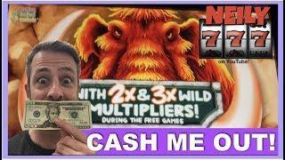 CASH ME OUT!!  5x$20  EPISODE 46  MAMMOTH POWER SLOT MACHINE  SHAMAN'S MAGIC  BUFFALO GOLD