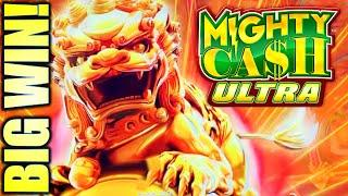 ROAR!! THE MIGHTY LION APPEARED!  LION CHARGE MIGHTY CASH ULTRA Slot Machine (Aristocrat Gaming)
