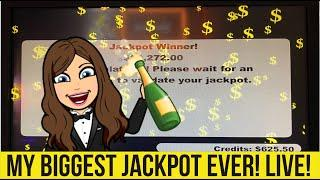 BIGGEST JACKPOT ON YOUTUBE CAUGHT LIVE! MASSIVE HANDPAY!! WINSTAR CASINO!