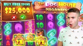 $25,000 Dog House Megaways Bonus Buy (25K SUB SPECIAL #8)
