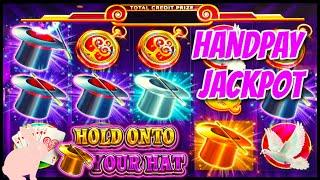 HIGH LIMIT UP TO $300 SPINS on Lock It Link Hold Onto Your Hat HANDPAY JACKPOT $60 Bonus Round Slot