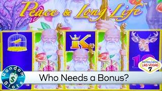 Peace & Long Life Slot Machine Win