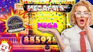 MILLIONAIRE MEGAPAYS  RECORD 1,476,546X JACKPOT!!