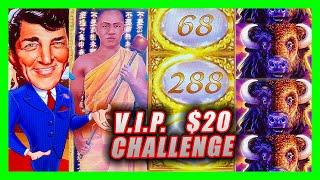 $20 PAYLINES VIP CHALLENGE  YouTube & Patreon Members select the slots I played in Reno!