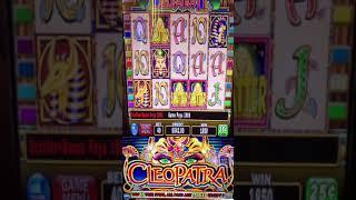 Cleopatra Slot Machine Bonus #shorts