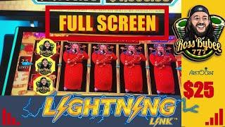High Limit •Happy Lanterns •Lightning Link Hold and Spin Feature & Bonuses