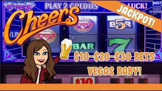 HANDPAY JACKPOT! High Limit 3 Reel Slots - Triple Double Diamond Strike, Old School Pinball + More!