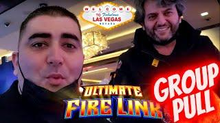 Ultimate Fire Links Slot Machine Bonus ! Winning In Las Vegas w/ BOMBA SLOTS Part-1