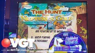 High Limit POLAR HIGH ROLLER | Hunt for NEPTUNE'S GOLD #VGT