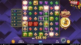 Wild Frames Slot - HUGE FEATURE WIN!