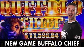 NEW GAME - Buffalo Chief hits the Casino Floors!
