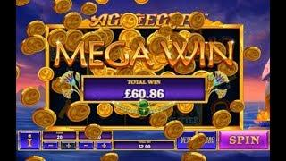 Mega Win on the Age of Egypt Online Slot from Playtech
