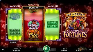 108 Heroes Multiplier Fortunes Slot - by Microgaming