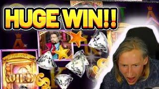 HUGE WIN! BOOK OF AGES BIG WIN - €7 bet on CASINO Slot from CasinoDaddys LIVE STREAM