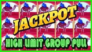 • HUGE JACKPOT HAND PAY • WINNING HIGH LIMIT GROUP PULL • LIGHTNING CASH •