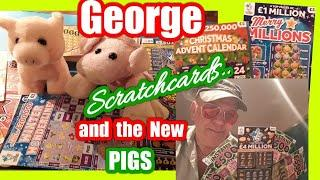 Wow!..it..... George....Scratchcards.and the New additions to the Family...