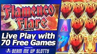 Flamenco Flare Slot - First Attempt, Live Play and 70 Free Games