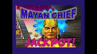 Mayan Chief JACKPOT! High Limit!