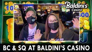 Teaming up with  Slot Queen  at Baldini's Casino!