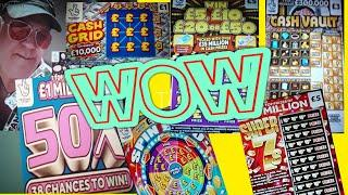 SCRATCHCARDS.£200..WOW!..WHAT A GAME.......THE FINAL. ...and ...INCLUDES  SCRATCHCARD PRIZE RAFFLE