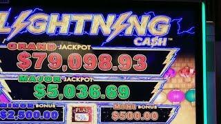 High Limit Lightning Link Happy Lantern Group Pull JACKPOT HANDPAY!!