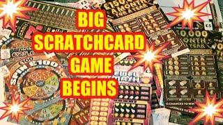 BIG SCRATCHCARD GAME..BEGINS