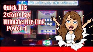 ️High Limit Slot Play️Wynn & Aria Las Vegas - QUICK HITSUltimate FIRE Link POWER 4, 2x5x10x Pay!