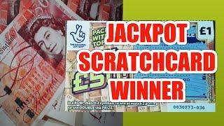 JACKPOT...SCRATCHCARD GAME..WHoooooOOOOO..