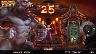 King Kong Fury slot from NextGen Gaming - Gameplay