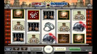 Cops n Robbers slot from Play'n GO - Gameplay