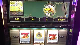 """VGT Slots Lucky Ducky """"Baby Buggy"""" Pattern Good Win Choctaw Casino Durant, OK 3 Ducks In A Row"""