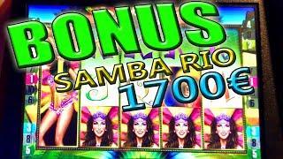 Super Bonus 1700€ SAMBA RIO - Slot Machine Bar [CLASSIC]